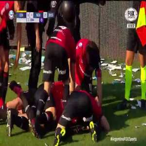 Rosario Central 0 - [1] Newell's Old Boys   65' C. Lema