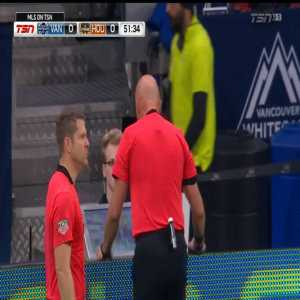 Vancouver Whitecaps [1] - 0 Houston Dynamo - H. In-Beom 54' - Penalty + VAR Review