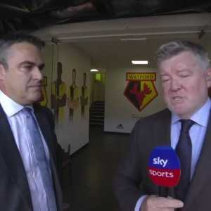 "Watford Chairman Scott Duxbury on Gracia sacking: ""I've got to make a professional decision, what I think is best for the club and not perhaps what the media and the pundits will think is best. Unlike them, I'm at the training ground every day. I see what's working and what's not working."""
