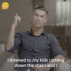 Cristiano Ronaldo opens up about the shame he felt when he was accused of rape.