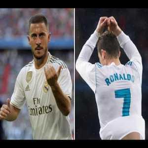Eden Hazard Vs Ronaldo Debut for Real Madrid | Hazard | Ronaldo