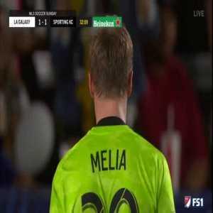 LA Galaxy [1]-1 Sporting Kansas City - Zlatan Ibrahimovic 32'