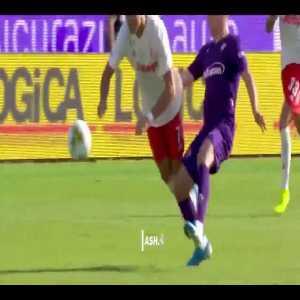 Ribery's run and challenge on Cristiano Ronaldo to win the ball back