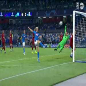 Adrián great save vs Napoli