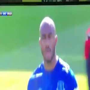 """Fabian Delph shouts """"Everyone is fucking shit"""" after Bournemouth score"""
