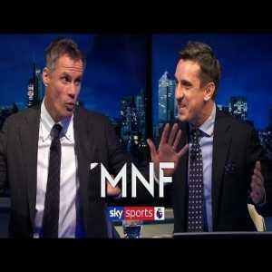 Gary Neville & Jamie Carragher's hilarious analysis of their own performances at Kompany testimonial.