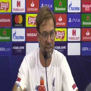 """Jurgen Klopp: """"It's easy to stay grounded after winning the Champions League but If you start taking drugs and drinking, and driving different cars, or leaving your missus at home because you are a Champions League winner, then I can't help you"""""""