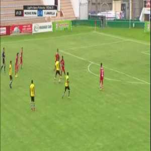 That nutmeg in Ecuador Pro Liga....
