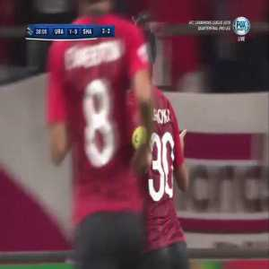 Urawa Red Diamonds 1-0 Shanghai SIPG - [3-2 on aggregate] - Shinzo Koroki 39'