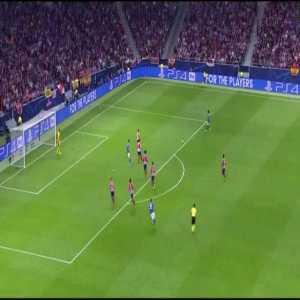 Atletico Madrid 0-[1] Juventus (Cuadrado)