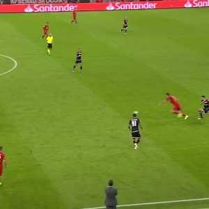 Lewandowski roulette and nutmeg skill vs Crvena Zvezda