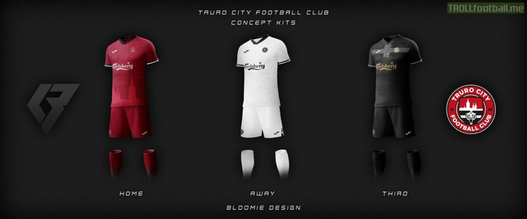 Truro City FC Concept Kits