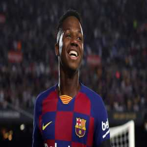 FC Barcelona's Ansu Fati is now eligible to play for Spain.