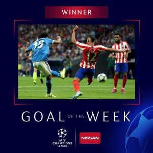 Juan Cuadrado's stunner vs Atletico Madrid wins UCL Goal of the Week.