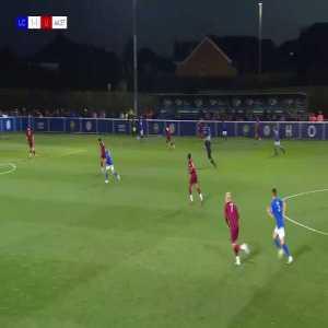 Leicester City U23 [2]-1 Liverpool U23 - George Thomas 45'