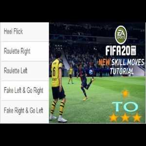 All Fifa Skill Moves Tutorials 1 STAR To 3 STAR SKILL MOVES TUTORIAL - Roulette Right,Heel Flick