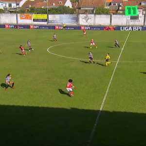 Artistic goal by Benfica women, Geyse