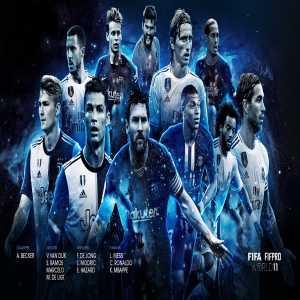 The FIFA FIFPro Men's World11 - Alisson, Matthijs De Ligt, Sergio Ramos, Virgil van Dijk, Marcelo, Luka Modrić, Frenkie de Jong, Kylian Mbappé, Lionel Messi, Eden Hazard, Cristiano Ronaldo