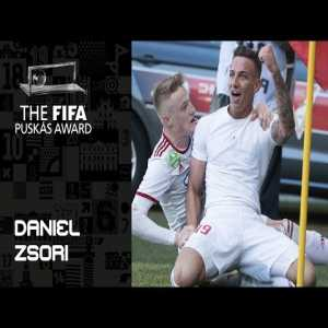18 year old Daniel Zsori is Winner of the puskas award 2019 beating the great Lionel Messi