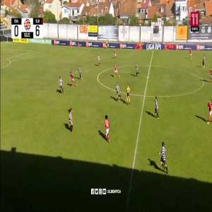 Ovarense 0-[7] Benfica - Geyse (Hat Trick and Great Goal)
