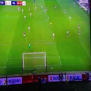 Zaza miss vs Milan
