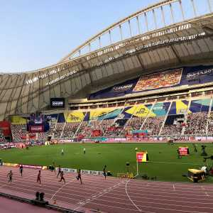 Ben Bloom on Twitter: The 2019 World Athletics Championships giving a lesson in what happens when you take a sport to Qatar. Upper section covered up, boxes empty, middle section covered up, lower section 20% full. Bet the athletes can't wait to compete in the pinnacle of their sport.