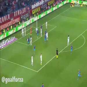 Trabzonspor 1-0 Besiktas - Dorukhan Tokoz OG 31'