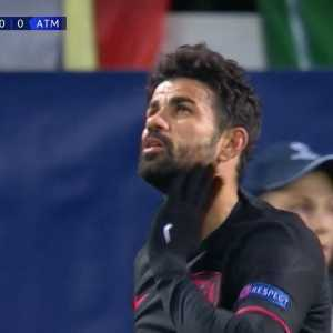 Diego Costa close-range miss