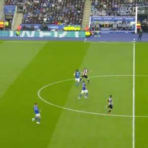 Çağlar Söyüncü turning defence into attack against Newcastle