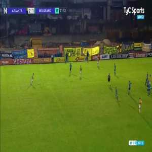 Atlanta [3] - 1 Belgrano   22' N. Caro Torres   Primera Nacional (Arg.)