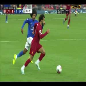 Choudhury awful tackle on Mohammad Salah