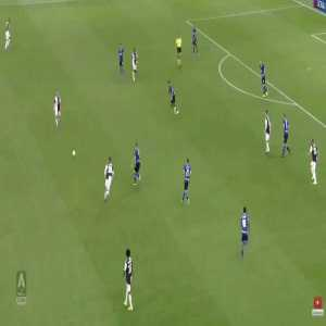 Full buildup of Higuain's goal against Inter Milan