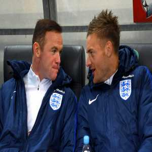 Despite spending four hours & 22 minutes together on the pitch for England in total, Jamie Vardy and Wayne Rooney never created a single goalscoring chance for one another. Awkward