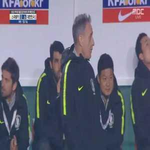 South Korea [6] - 0 Sri Lanka | Kim Shin-wook 55' hat-trick