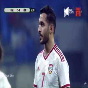 UAE 3-0 Indonesia - Ali Mabkhout 63'