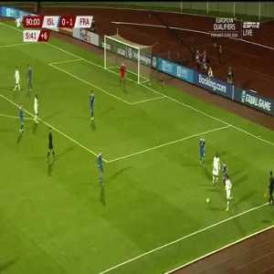 France final opportunity vs Iceland