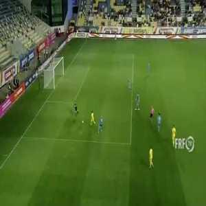 Romania U21 [3] - 0 Ukraine U21 - Adrian Petre 90 + 4' [Great goal]