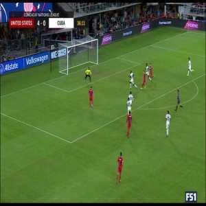United States [5] - 0 Cuba - Ramos OG 37' - Face goal