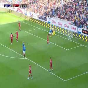Rangers Legends 0-2 Liverpool Legends - Patrik Berger 17'