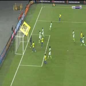Casemiro hits the woodwork ( Brazil 1 - 1 Nigeria)