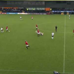 Tottenham Women vs Manchester United Women 0-1, Kirsty Hanson