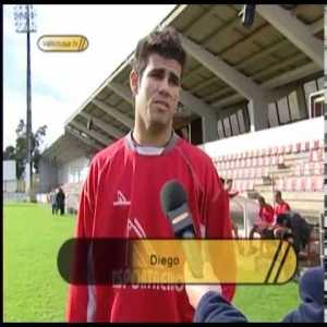 17 year old Diego Costa playing in the Portuguese Championshiop