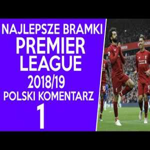 Premier League 2018-19 goals compilation with Polish commentary (part 2 in comments)