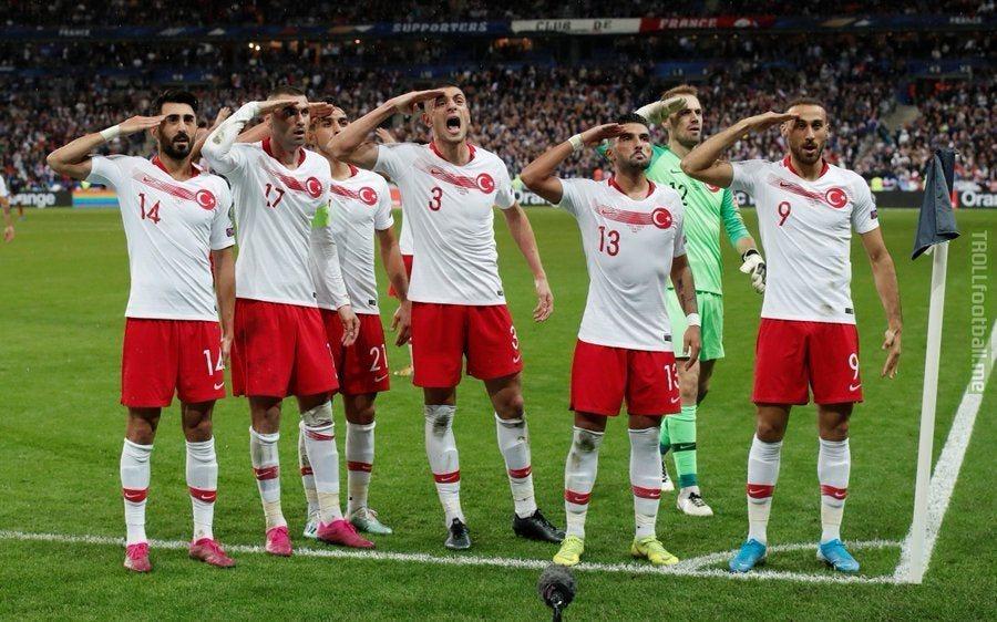Turkish National Team in Paris, 2019