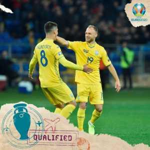 Ukraine qualify for EURO 2020