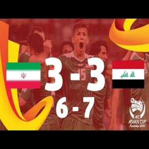 AFC World Cup 2015 - Iran 3(6) - 3(7) Iraq - Red cards, drama, comeback goal @ ET - One of the craziest, most emotional games I've ever experienced.