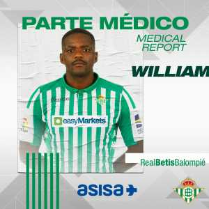 MEDICAL REPORT | William Carvalho will undergo surgery tomorrow for a L5-S1 spinal disc herniation