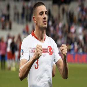Merih Demiral's game by numbers vs. France: 100% tackles won 82% pass accuracy 9 clearances 6 long balls 2 interceptions