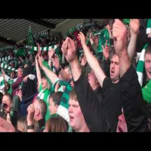 In case your feeling down today here is the best song in soccer history, Hibernians 'Sunshine on Leith' 🙌🏻
