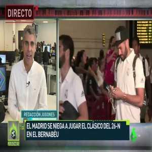 Jose luis Sanchez: El clasico could be postponed